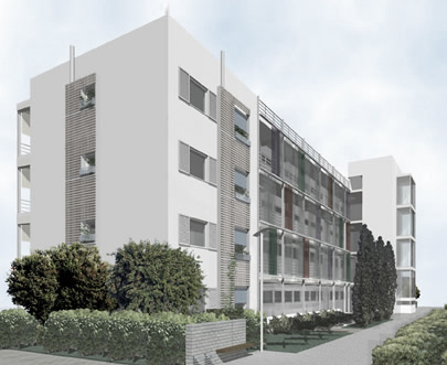 Refurbishment and Energy Upgrading of Council Flats in Maroussi, Athens