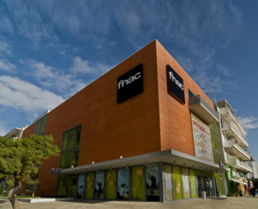 Fnac store in Glyfada, Athens
