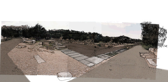 Ancient Agora of Athens – Enhancement of the Archaeological site